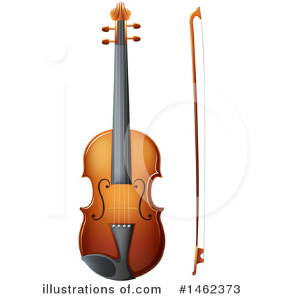 Violin Clipart #1462373 by Graphics RF