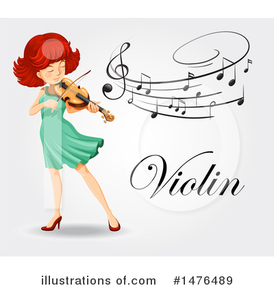 Violin Clipart #1476489 by Graphics RF