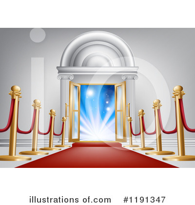 Red Carpet Clipart #1191347 by AtStockIllustration