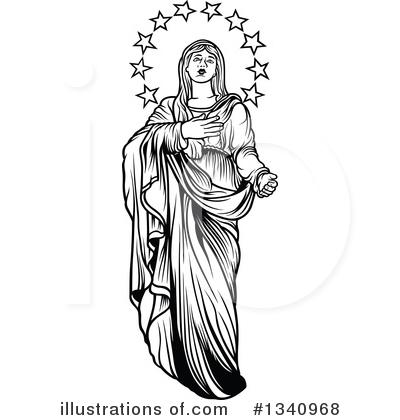 Virgin Mary Clipart 1340968
