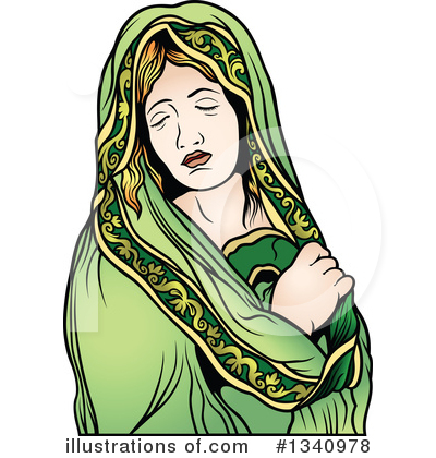 Virgin Mary Clipart #1340978 by dero