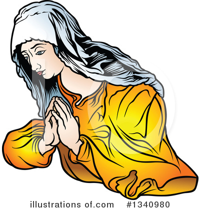 Virgin Mary Clipart #1340980 by dero