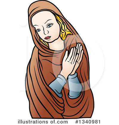 Virgin Mary Clipart #1340981 by dero