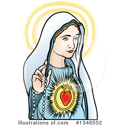 Virgin Mary Clipart #1346552 by dero