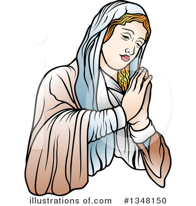Virgin Mary Clipart #1348150 by dero