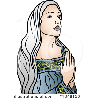 Virgin Mary Clipart #1348156 by dero