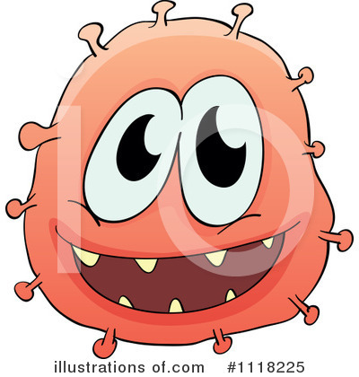 Virus Clipart #1118225 by Graphics RF