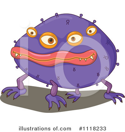 Virus Clipart #1118233 by Graphics RF