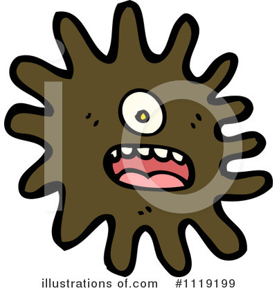 Royalty free rf virus clipart illustration by lineartestpilot