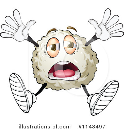 White Blood Cell Clipart #1148497 by Graphics RF