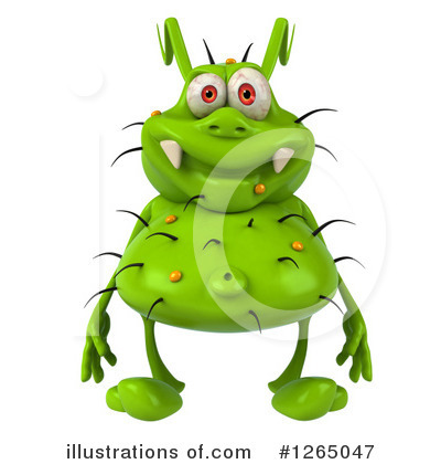 Green Germ Clipart #1265047 by Julos