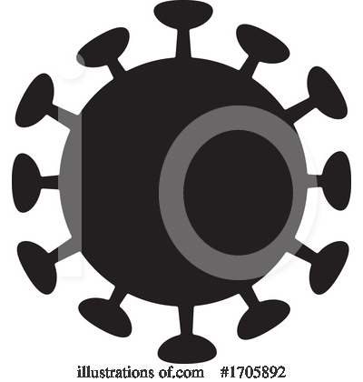 Coronavirus Clipart #1705892 by Any Vector