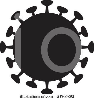 Coronavirus Clipart #1705893 by Any Vector