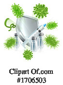 Virus Clipart #1706503 by AtStockIllustration