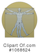 Vitruvian Man Clipart #1068624 by AtStockIllustration