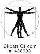 Vitruvian Man Clipart #1438993 by AtStockIllustration