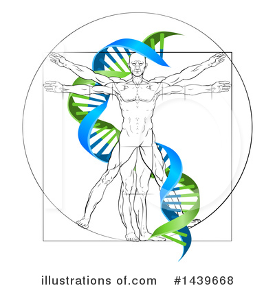 Dna Clipart #1439668 by AtStockIllustration
