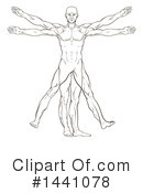 Vitruvian Man Clipart #1441078 by AtStockIllustration