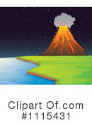 Volcano Clipart #1115431 by Graphics RF