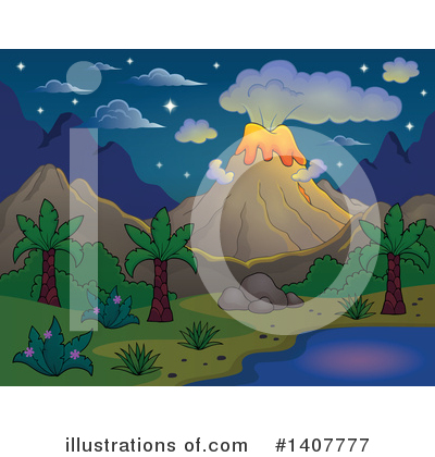Island Clipart #1407777 by visekart