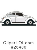 Volkswagen Clipart #26480 by David Rey