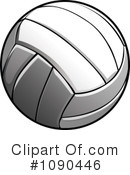 Royalty-Free (RF) Volleyball Clipart Illustration #1090446