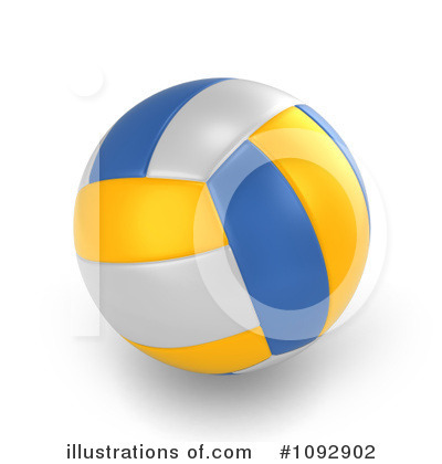 Volleyball Clipart #1092902 by BNP Design Studio