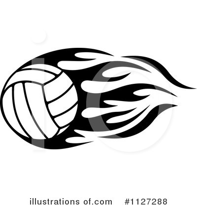 Volleyball Clipart #1127288 by Vector Tradition SM