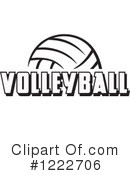 Volleyball Clipart #1222706 by Johnny Sajem
