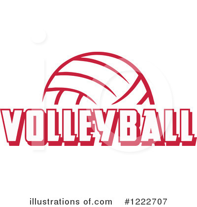 Volleyball Clipart #1222707 by Johnny Sajem