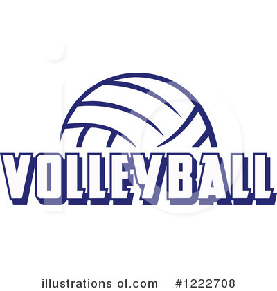 Volleyball Clipart #1222708 by Johnny Sajem