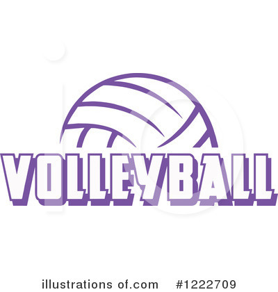 Volleyball Clipart #1222709 by Johnny Sajem