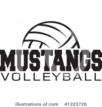 Volleyball Clipart #1223726 by Johnny Sajem