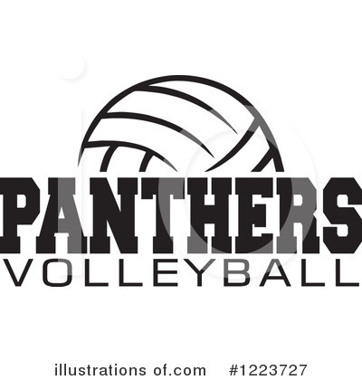 Volleyball Clipart #1223727 by Johnny Sajem