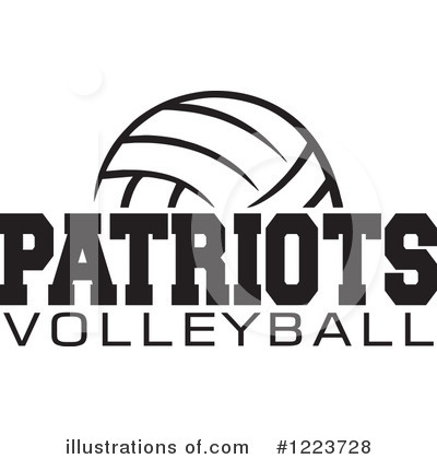 Volleyball Clipart #1223728 by Johnny Sajem