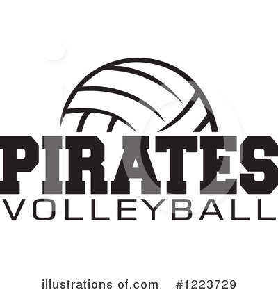 Volleyball Clipart #1223729 by Johnny Sajem