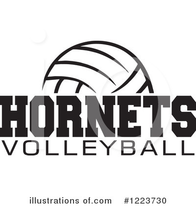 Volleyball Clipart #1223730 by Johnny Sajem