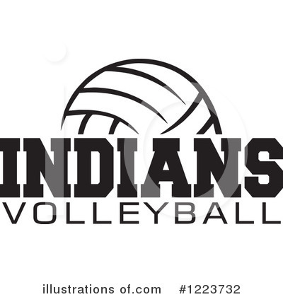 Volleyball Clipart #1223732 by Johnny Sajem