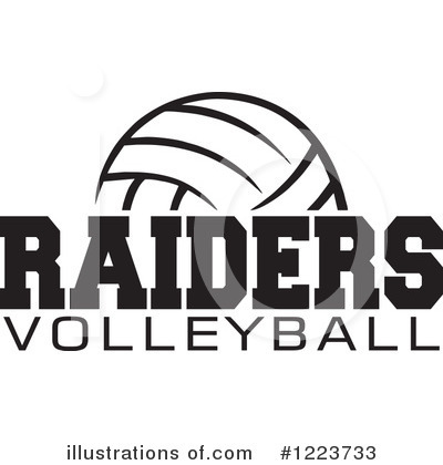 Volleyball Clipart #1223733 by Johnny Sajem