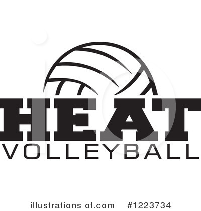 Royalty-Free (RF) Volleyball Clipart Illustration by Johnny Sajem - Stock Sample #1223734