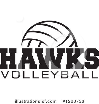 Royalty-Free (RF) Volleyball Clipart Illustration by Johnny Sajem - Stock Sample #1223736