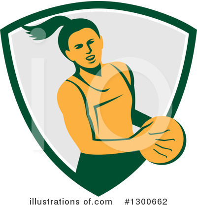 Volleyball Clipart #1300662 by patrimonio