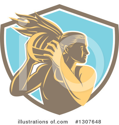 Volleyball Clipart #1307648 by patrimonio