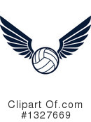 Volleyball Clipart #1327669 by Vector Tradition SM