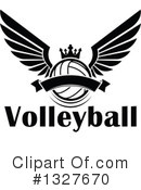 Volleyball Clipart #1327670 by Vector Tradition SM