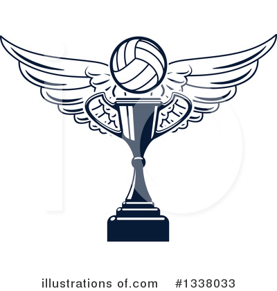 Volleyball Clipart #1338033 by Vector Tradition SM