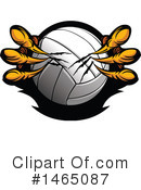 Volleyball Clipart #1465087 by Chromaco