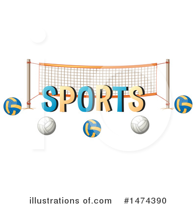 Volleyball Clipart #1474390 by Graphics RF
