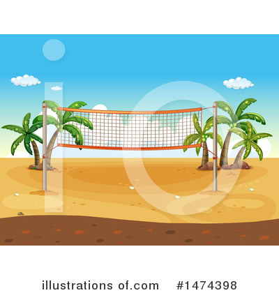 Volleyball Clipart #1474398 by Graphics RF