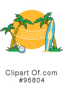 Volleyball Clipart #96804